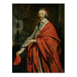 Portrait of Cardinal de Richelieu Postcard