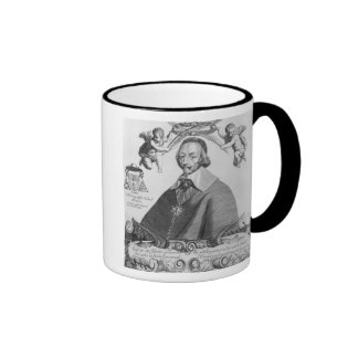 Portrait of Cardinal de Richelieu Ringer Mug