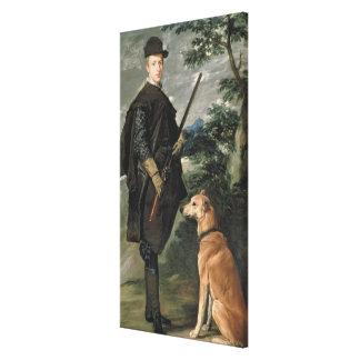 Portrait of Cardinal Infante Ferdinand Canvas Print