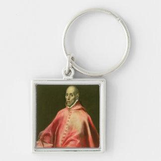 Portrait of Cardinal Juan de Tavera Keychain