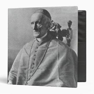 Portrait of Cardinal Manning Binder