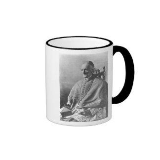 Portrait of Cardinal Manning Ringer Coffee Mug