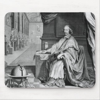 Portrait of Cardinal Mazarin  in his Palace Mouse Pad