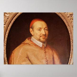 Portrait of Cardinal Pierre de Berulle Poster