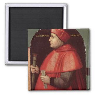 Portrait of Cardinal Thomas Wolsey Refrigerator Magnets