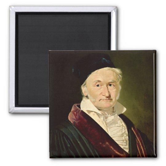 Portrait of Carl Friedrich Gauss, 1840 Magnet