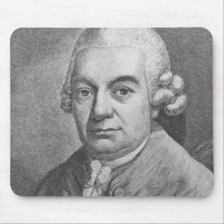 Portrait of Carl Philipp Emanuel Bach (1714-88) (e Mouse Pad