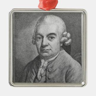 Portrait of Carl Philipp Emanuel Bach (1714-88) (e Ornament