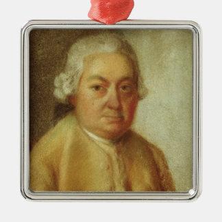 Portrait of Carl Philipp Emanuel Bach, c.1780 Christmas Ornaments
