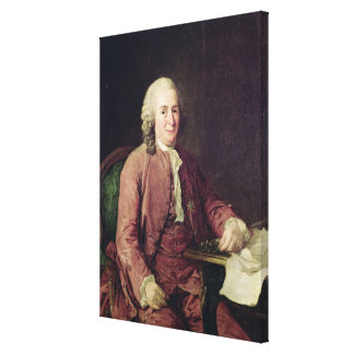Portrait of Carl von Linnaeus Canvas Print