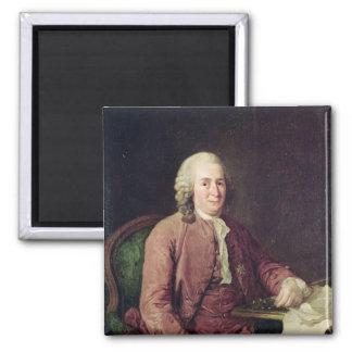 Portrait of Carl von Linnaeus Magnet