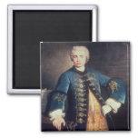 Portrait of Carlo Farinelli, 'Il Ragazzo' Refrigerator Magnets