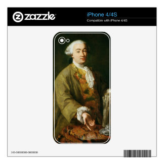 Portrait of Carlo Goldoni Decals For The iPhone 4S
