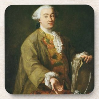 Portrait of Carlo Goldoni Drink Coaster