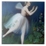 'Portrait of Carlotta Grisi in Giselle' by Tile