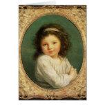 Portrait of Caroline Lalive de la Briche, 1786 Greeting Card