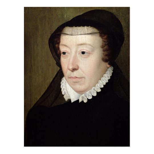 Portrait of Catherine de Medici Postcard