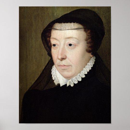 Portrait of Catherine de Medici Poster