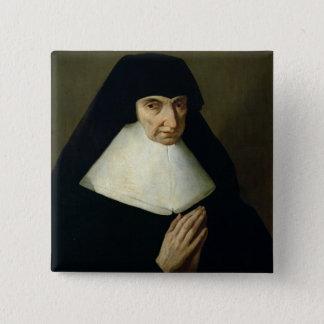 Portrait of Catherine de Montholon, founder of the Pinback Button