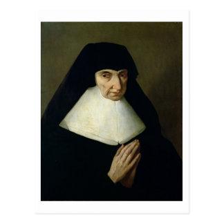 Portrait of Catherine de Montholon, founder of the Postcard