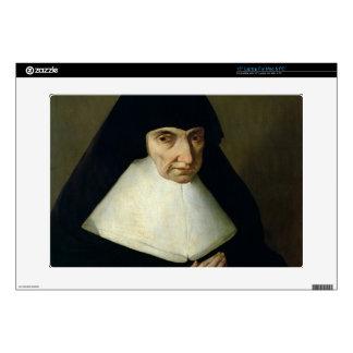 """Portrait of Catherine de Montholon, founder of the 15"""" Laptop Decals"""