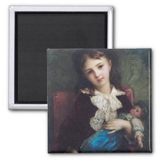 Portrait of Catherine du Bouchage, 1879 2 Inch Square Magnet