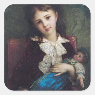 Portrait of Catherine du Bouchage, 1879 Stickers