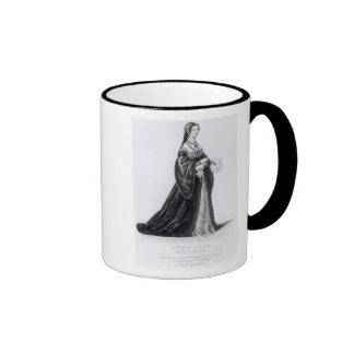 Portrait of Catherine engraved by Hargrave Mugs