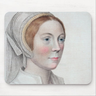 Portrait of Catherine Howard (1520-42) engraved by Mouse Pad