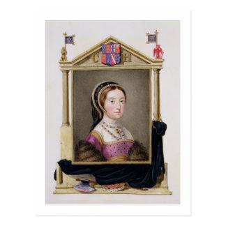 Portrait of Catherine Howard (c.1520-d.1542) 5th Q Postcard