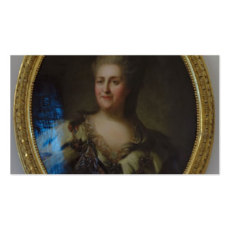 Portrait of Catherine II by Fyodor Rokotov Double-Sided Standard Business Cards (Pack Of 100)