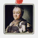 Portrait of Catherine II  of Russia Christmas Ornament