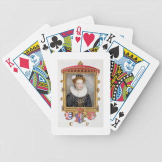 Portrait of Catherine Parr (1512-1548) Sixth Wife Bicycle Playing Cards