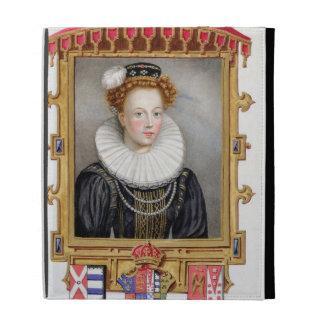 Portrait of Catherine Parr (1512-1548) Sixth Wife iPad Case