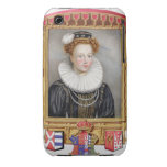 Portrait of Catherine Parr (1512-1548) Sixth Wife iPhone 3 Cases