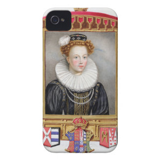 Portrait of Catherine Parr (1512-1548) Sixth Wife iPhone 4 Covers