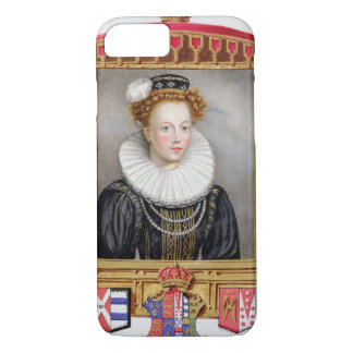 Portrait of Catherine Parr (1512-1548) Sixth Wife iPhone 8/7 Case