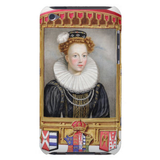 Portrait of Catherine Parr (1512-1548) Sixth Wife iPod Case-Mate Cases