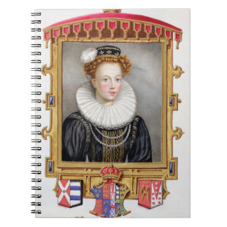 Portrait of Catherine Parr (1512-1548) Sixth Wife Notebook