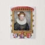 Portrait of Catherine Parr (1512-1548) Sixth Wife Puzzle