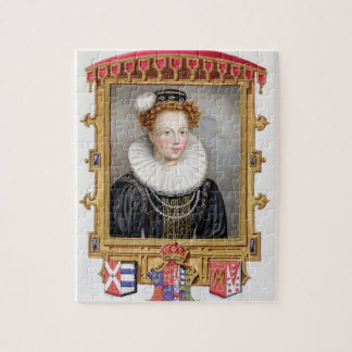 Portrait of Catherine Parr (1512-1548) Sixth Wife Puzzles