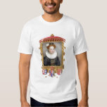 Portrait of Catherine Parr (1512-1548) Sixth Wife T Shirt