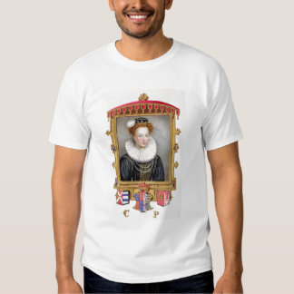 Portrait of Catherine Parr (1512-1548) Sixth Wife Tshirts