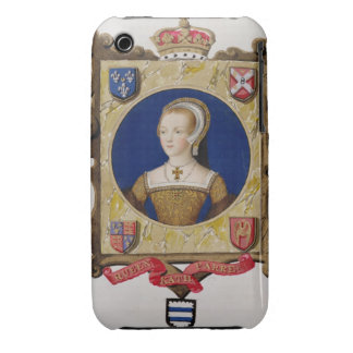 Portrait of Catherine Parr (1512-48) 6th Queen of Case-Mate iPhone 3 Case