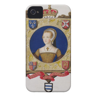 Portrait of Catherine Parr (1512-48) 6th Queen of Case-Mate iPhone 4 Case