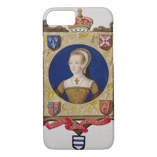 Portrait of Catherine Parr (1512-48) 6th Queen of iPhone 8/7 Case