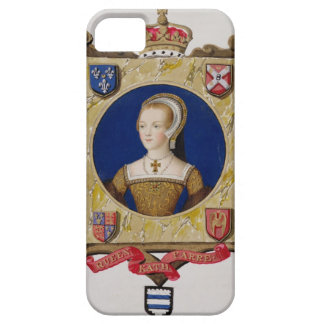 Portrait of Catherine Parr (1512-48) 6th Queen of iPhone SE/5/5s Case