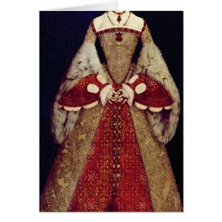Portrait of Catherine Parr, 1545 Card