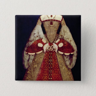 Portrait of Catherine Parr, 1545 Pinback Button