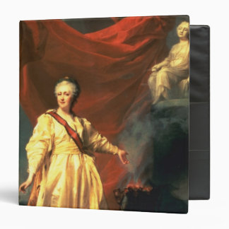 Portrait of Catherine the Great as Lawgiver 3 Ring Binder